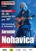 Dwa koncerty Jaromira Nohavicy w Radiu Wrocław