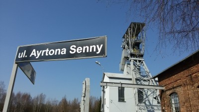 Senna's pit-stop in faraway Poland
