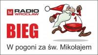 """Bieg Radia Wrocław: """"W pogoni za św. Mikołajem"""""""