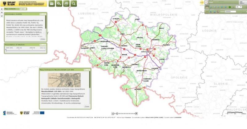 Historyczne Mapy Dolnego Slaska Sprawdz Jak Zmienial Sie Wroclaw