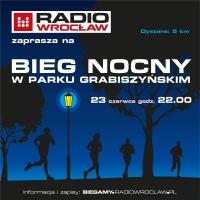 Bieg Nocny Radia Wrocław w Parku Grabiszyńskim