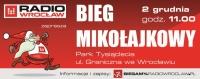"""""""W pogoni za św. Mikołajem"""" – bieg Radia Wrocław"""