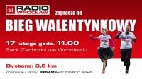 Zakochaj się w bieganiu!  Radio Wrocław zaprasza na Bieg Walentynkowy