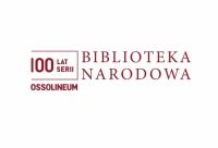 OPOWIEŚCI LITERACKIE NA STULECIE BIBLIOTEKI NARODOWEJ