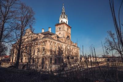 Zamek Hochbergów w Roztoce [FOTOSPACER]