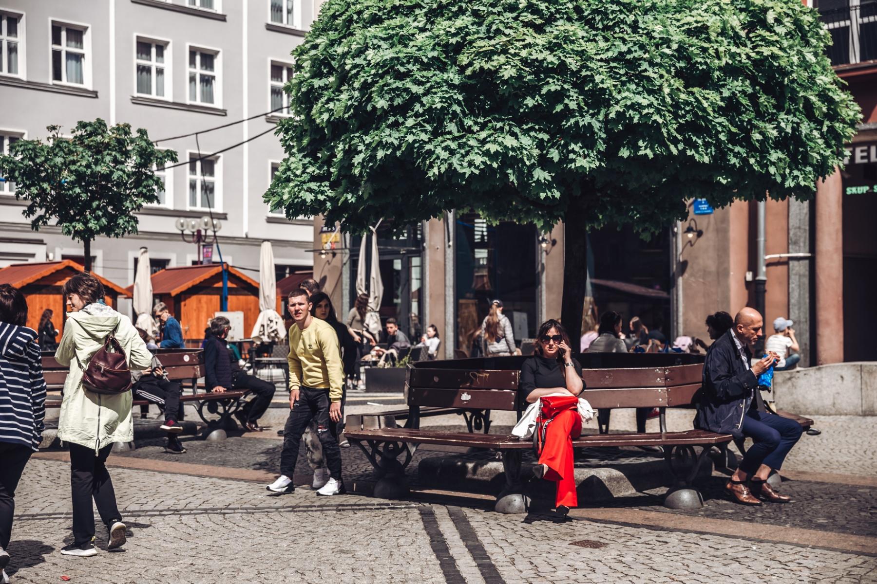 R jak rozluźnienie, czyli życie miejskie kwitnie [FOTOREPORTAŻ]