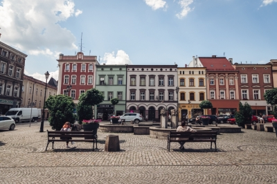 Rynek w Ząbkowicach Śląskich [FOTOSPACER]