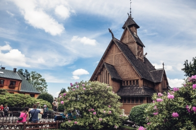 Wang - jedyny taki kościół w Polsce [FOTOSPACER]
