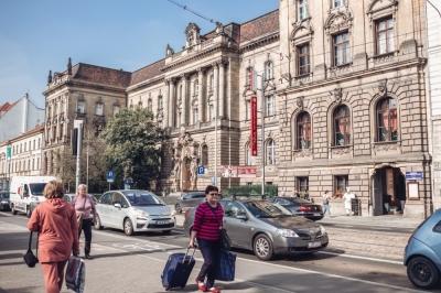 Ulica Piłsudskiego - powitanie we Wrocławiu [FOTOSPACER]