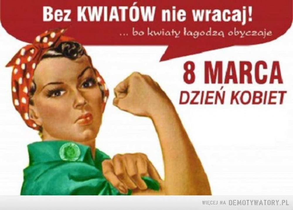 życzenia Na Dzień Kobiet Smsy Wierszyki 8 Marca Radio