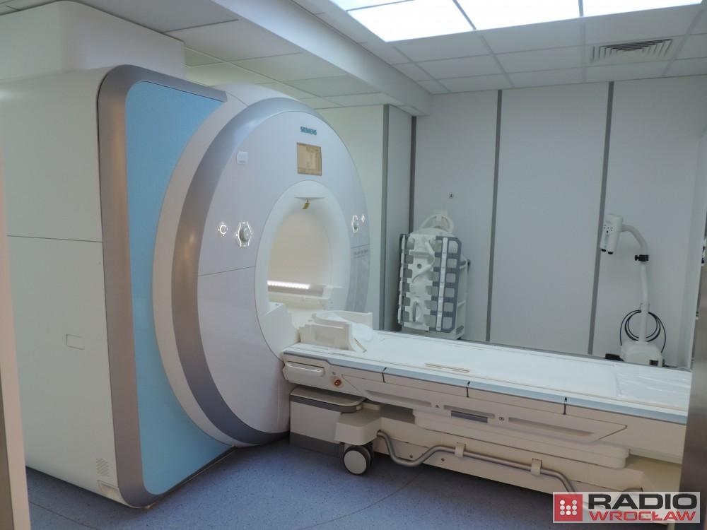 Wrocław: Nowy rezonans w szpitalu na Kamieńskiego [ZDJĘCIA