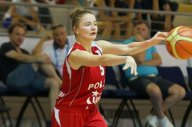 Koszykarka z Kutna w reprezentacji Polski
