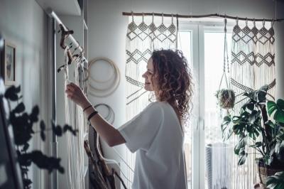 Makrama, sztuka wiązania sznurków [FOTOREPORTAŻ]