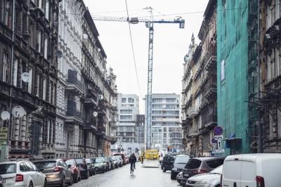 FOTOSPACER: Remont elewacji na Przedmieściu Oławskim