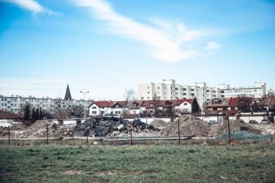 FOTOSPACER: Kiedyś JTT, teraz powstają mieszkania [ZOBACZ]