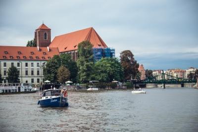 Wrocław z punktu widzenia Odry [FOTOSPACER]